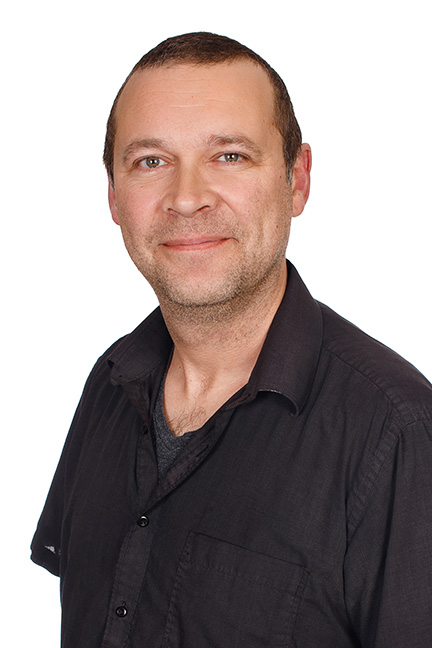Jonathan Blais, Financial Aid Officer