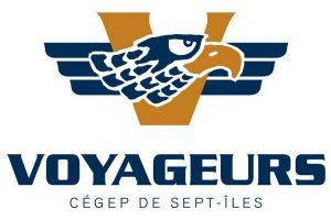 Logo des équipes sportives du Cégep de Sept-Îles : Les Voyageurs
