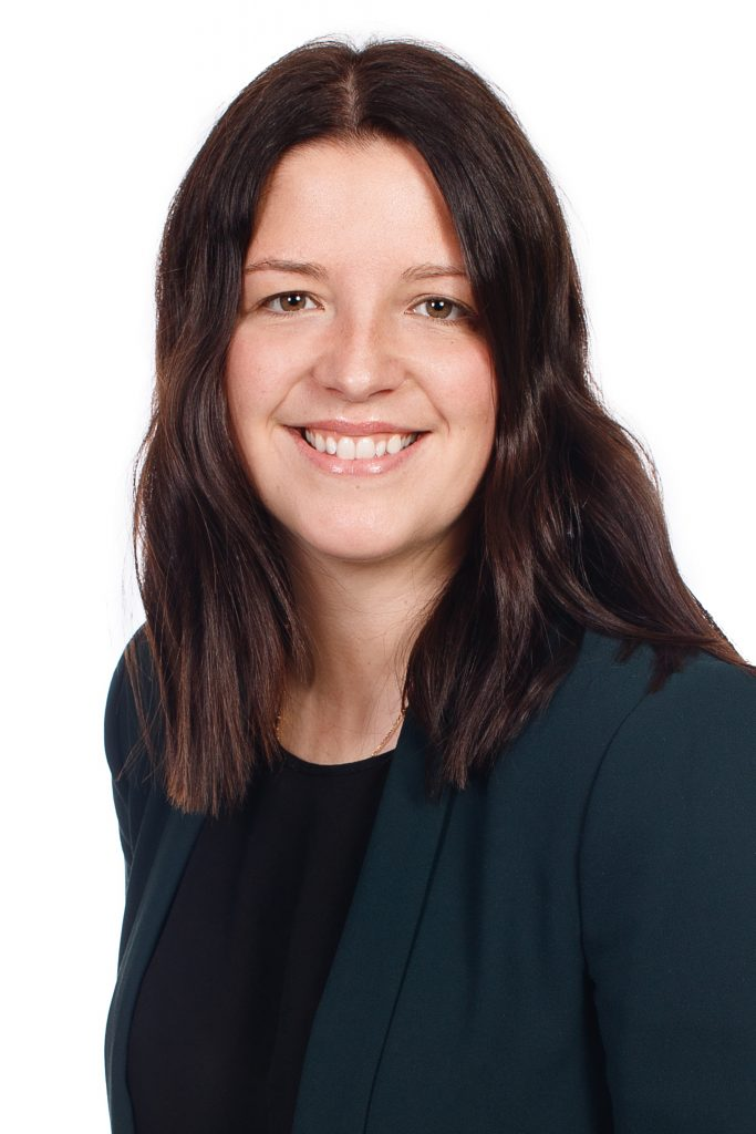 Kyra Robertson, guidance consellor