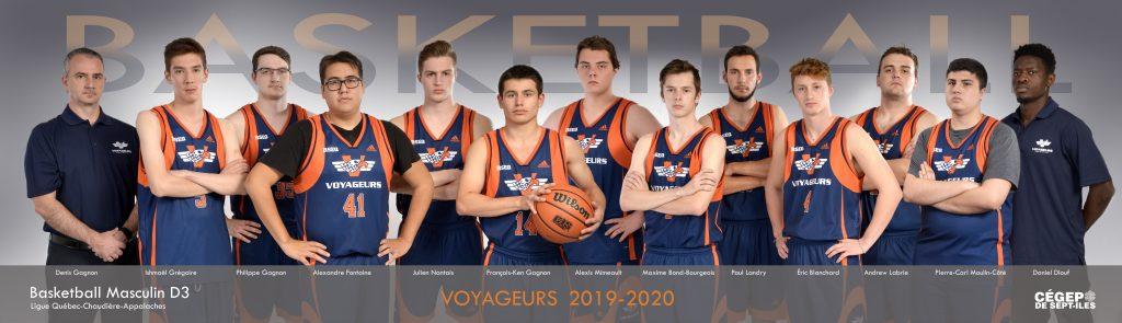 équipe de basketball masculin Les Voyageurs 2019-2020