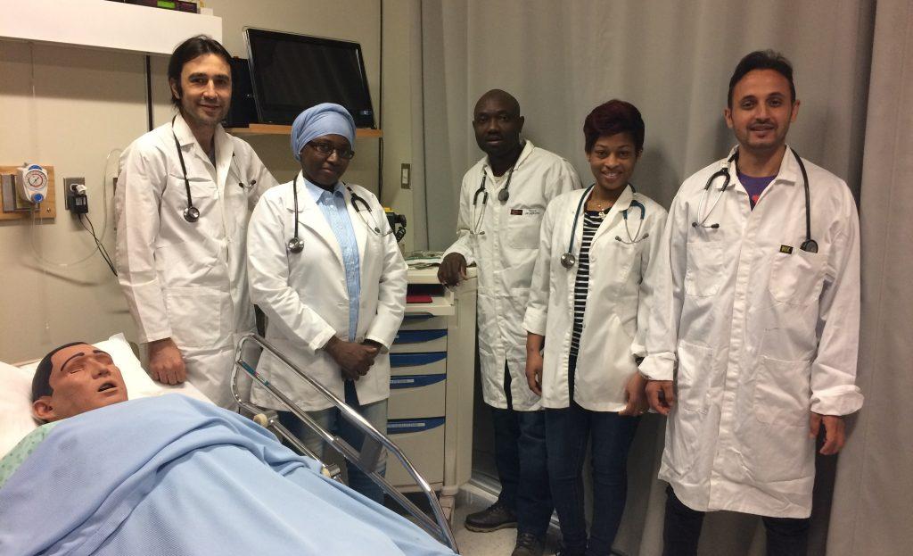 International students in nursing program