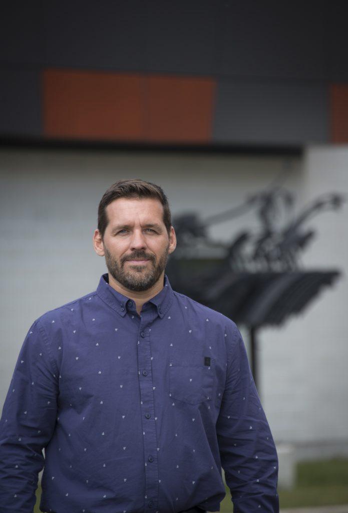 David Beaudin, directeur des ressources matérielles, informatiques et financières au Cégep de Sept-Îles