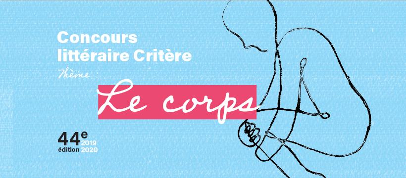 logo du concours littéraire Critère