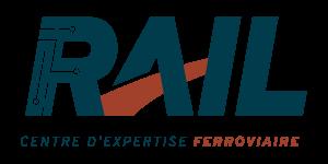 Logo du Centre d'expertise ferroviaire RAIL