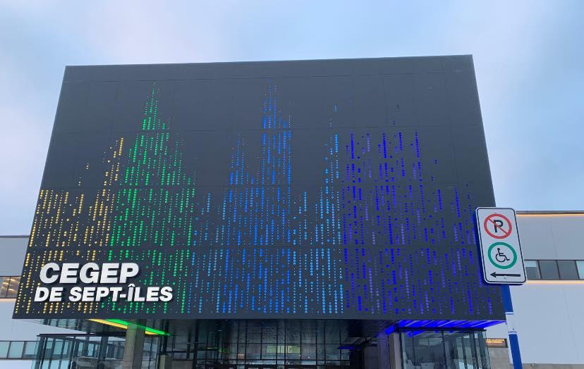 Nouvelle façade pour le Cégep de Sept-Îles