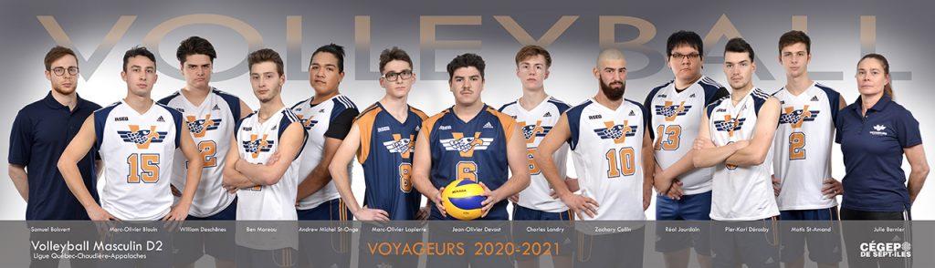 Volleyball Masculin Voyageurs 2020 2021