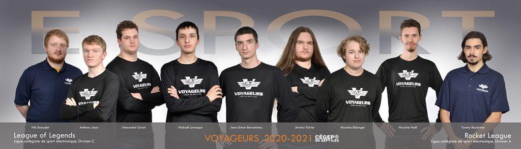 eSport équipe 2020 2021